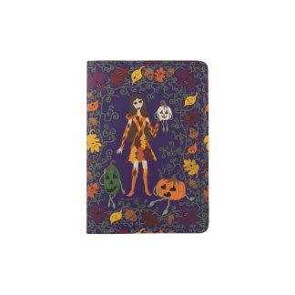 Autumn Faerie Passport Holder