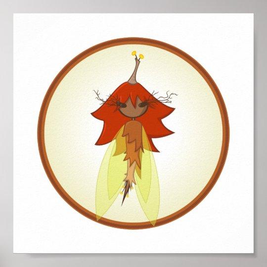 Autumn Faerie Print