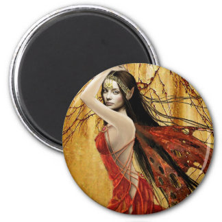 Autumn Fairy Magnet