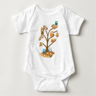 Autumn Fall Baby Bodysuit