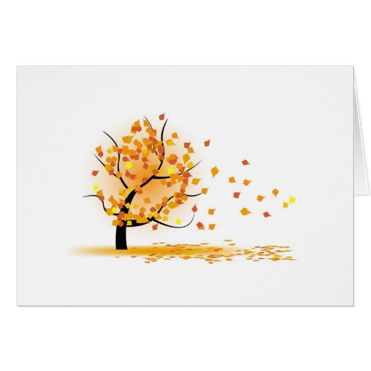 Autumn Fall Card