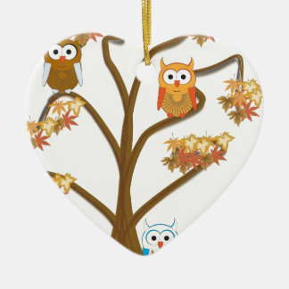 Autumn Fall Christmas Ornament