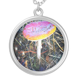 Autumn - Fall for you Silver Plated Necklace