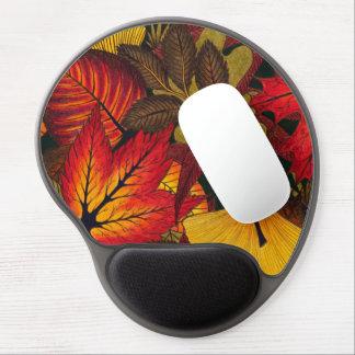 Autumn / Fall Leaves - Ergonomic Gel Mouse Pad