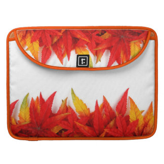 Autumn/Fall Leaves Fire Colors Macbook Pro Sleeve