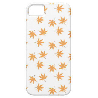 Autumn Fall leaves modern chic nature hip pattern iPhone 5 Case