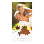 Autumn Fall Leaves Thanksgiving Holiday Photo Card