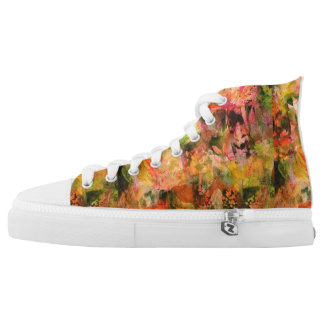 Autumn fall shoes printed shoes