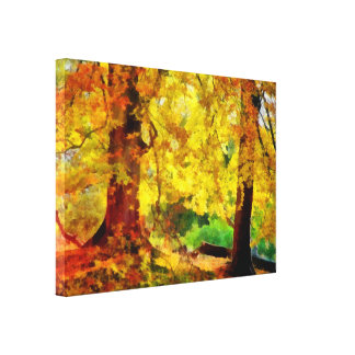 Autumn / Fall Trees Canvas Print
