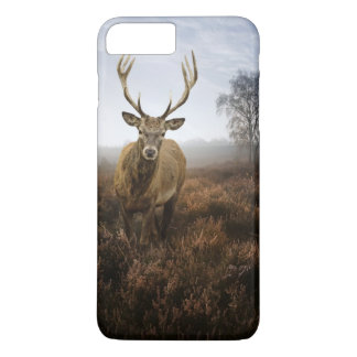 Autumn Fall with beautiful red deer stag iPhone 8 Plus/7 Plus Case