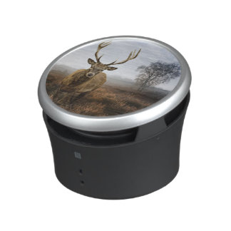 Autumn Fall with beautiful red deer stag Speaker