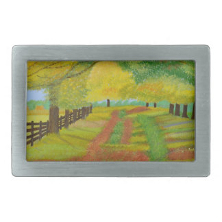 Autumn- Fallen Leaves Belt Buckles