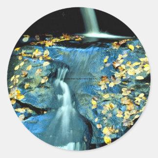 Autumn Falls, Smoky Mountain National Park, TN fro Stickers