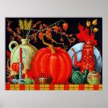 Autumn Festive Table Print
