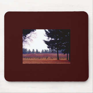 autumn field mouse pad