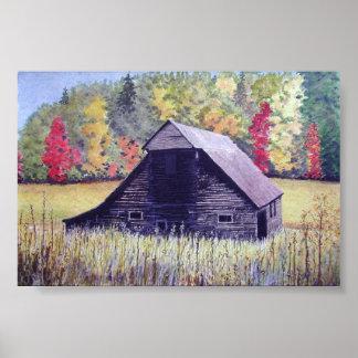 Autumn Field- poster