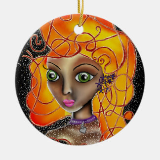 Autumn Fire. Christmas Ornament