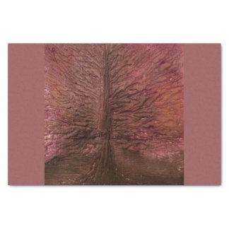 Autumn Fire Tree Tissue Paper