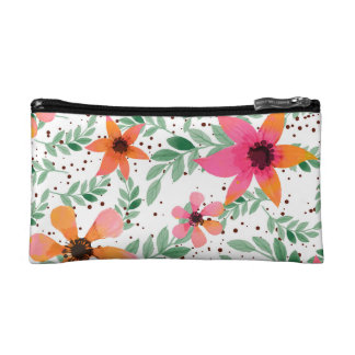 Autumn Flora Cosmetic Bag