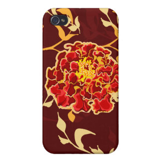 Autumn Floral 4s iPhone 4/4S Covers