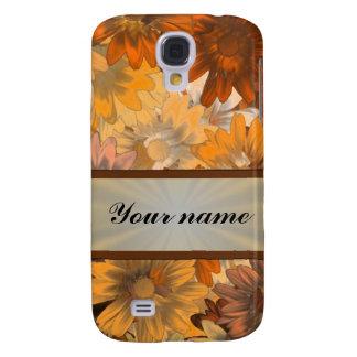 Autumn floral samsung galaxy s4 cover