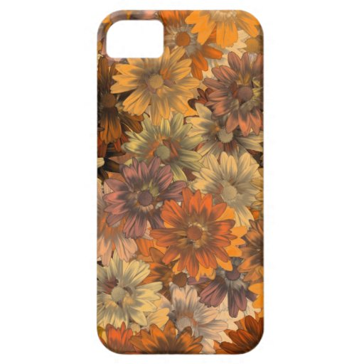 Autumn floral iPhone 5 covers