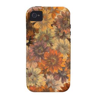 Autumn floral iPhone 4 cases