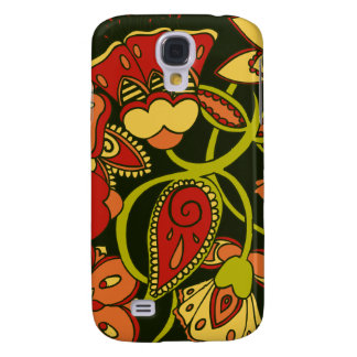 Autumn Floral Galaxy S4 Covers