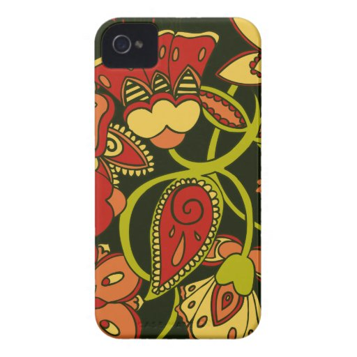 Autumn Floral Blackberry Bold Covers
