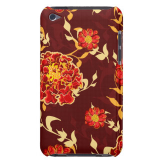 Autumn Floral Barely There iPod Cases