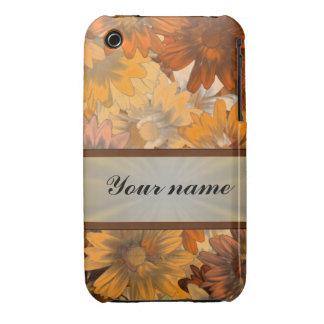 Autumn floral iPhone 3 Case-Mate cases