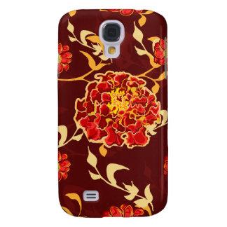 Autumn Floral Galaxy S4 Case