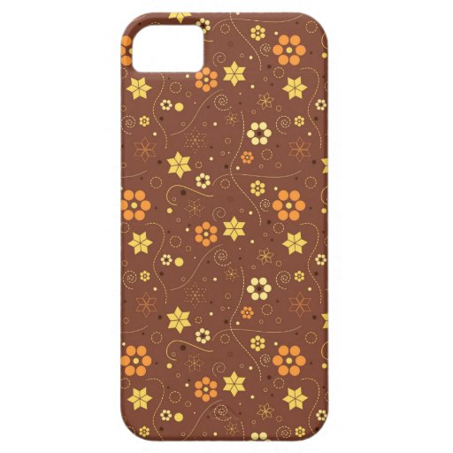 Autumn floral design iPhone 5/5S covers
