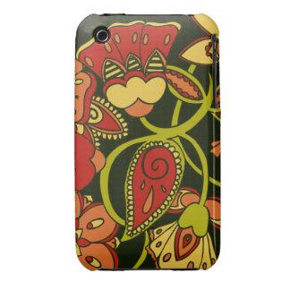 Autumn Floral iPhone 3 Cases