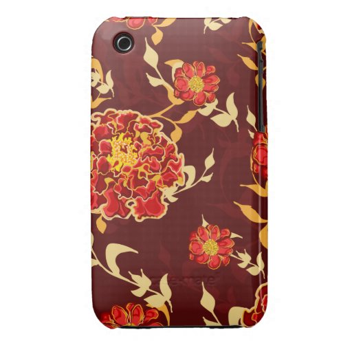 Autumn Floral iPhone 3gs Case iPhone 3 Cover