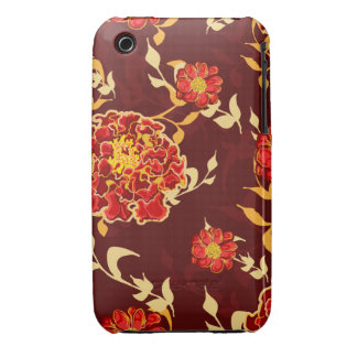 Autumn Floral iPhone 3gs Case iPhone 3 Case-Mate Cases