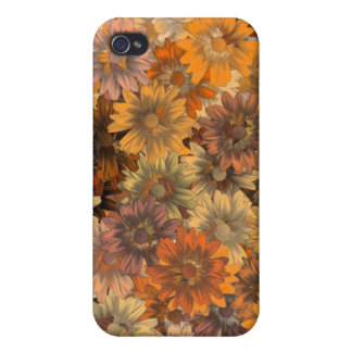 Autumn floral iPhone 4 cover