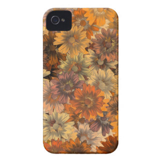 Autumn floral iPhone 4 covers