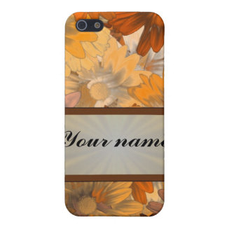 Autumn floral iPhone 5/5S cover