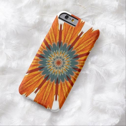 Autumn Floral Kaleidoscope Barely There iPhone 6 Case
