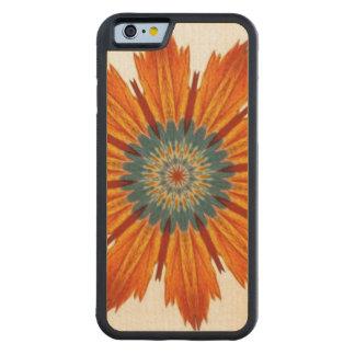 Autumn Floral Kaleidoscope Maple iPhone 6 Bumper Case