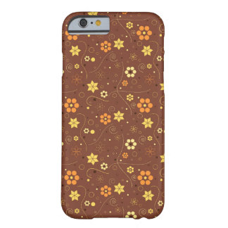 Autumn floral pattern barely there iPhone 6 case
