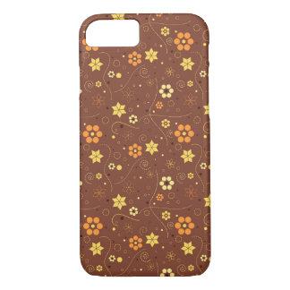 Autumn floral pattern iPhone 7 case