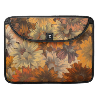 Autumn floral sleeve for MacBook pro