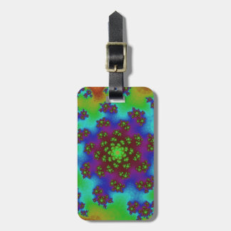 Autumn Floral Sprinkles Luggage Tag