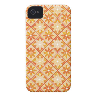 Autumn Floral Tiles iPhone 4 Case-Mate ID iPhone 4 Cover