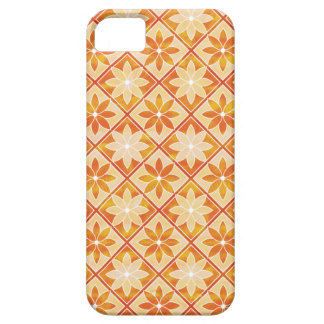 Autumn Floral Tiles iPhone 5 Case-Mate ID iPhone 5 Cover