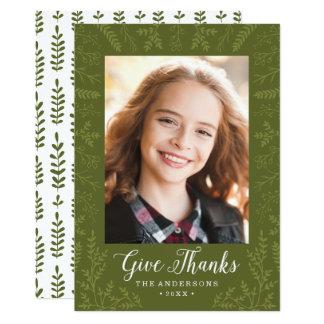Autumn Flourish | Holiday Photo Card