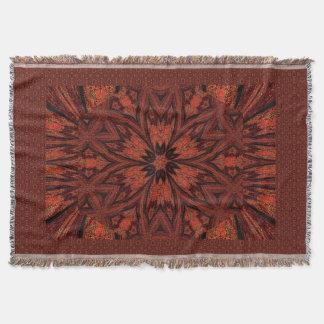 Autumn Flower 1 Throw Blanket
