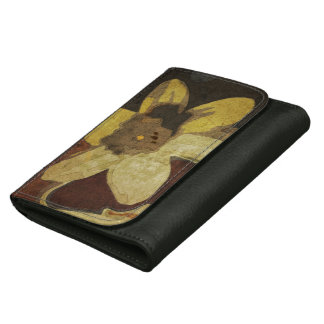 Autumn Flower Ladies Wallet